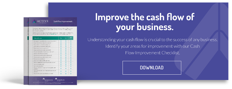 improve the cash flow of the business